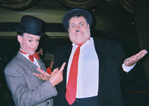 Laurel and Hardy ace look a likes
