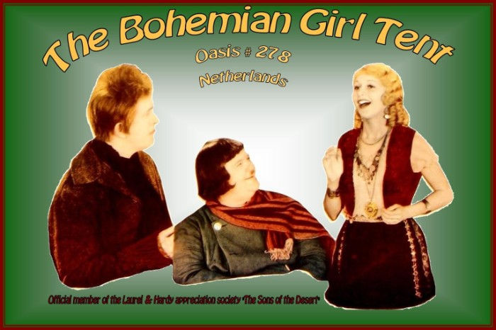 laurel and hardy bohemian girl tent