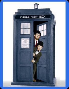 Doctor Who tardis maouse mat pad