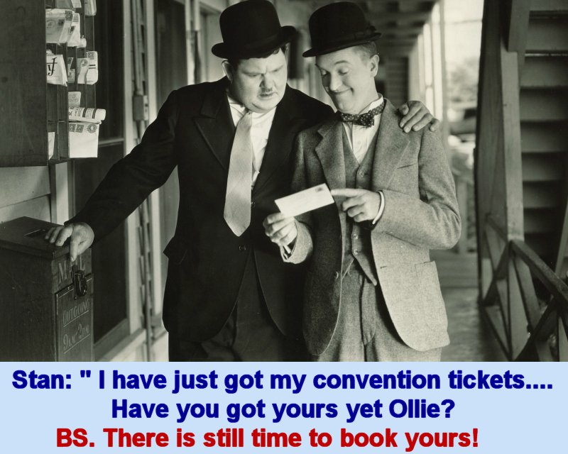 Laurel and Hardy Sons of the Desert Convention