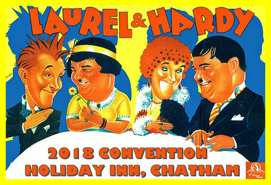 Laurel and Hardy 2018 Convention