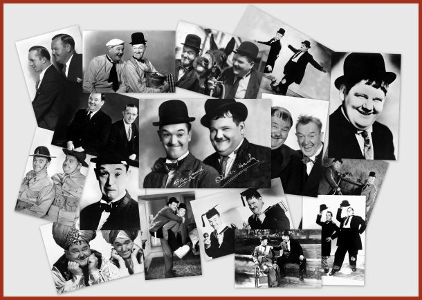 Laurel and hardy Postcards