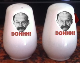 James Finlayson Salt and pepper shakers pots