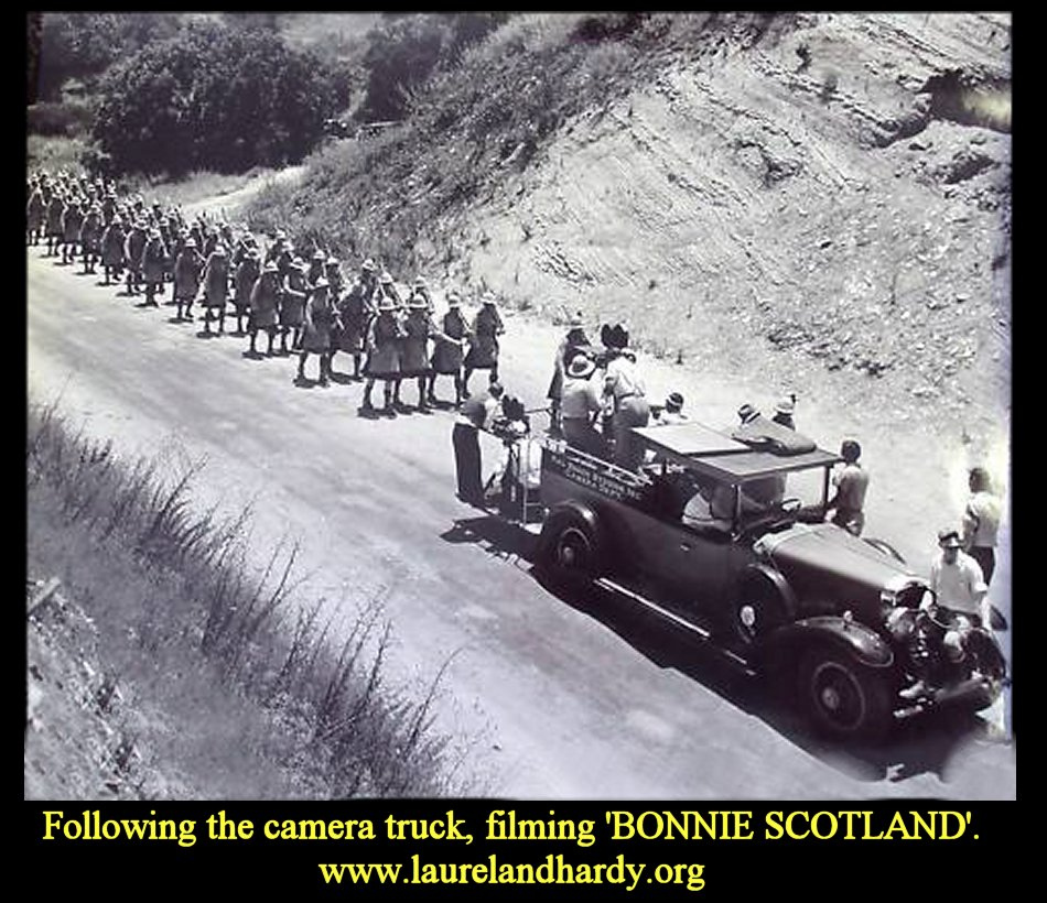 Laurel and Hardy in Bonnie Scotland