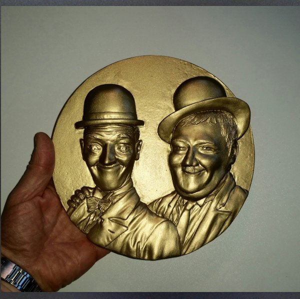 Laurel and Hardy Plaque