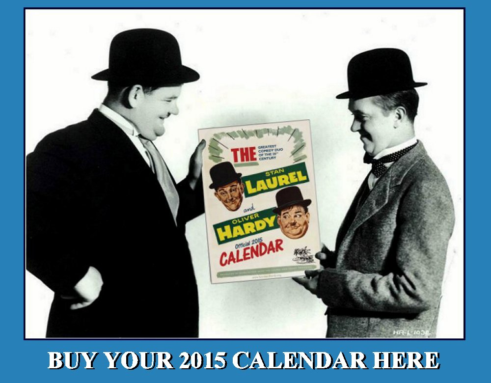 The Laurel and Hardy Official 2015 Calendar