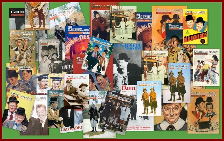 Laurel and Hardy Magazine covers
