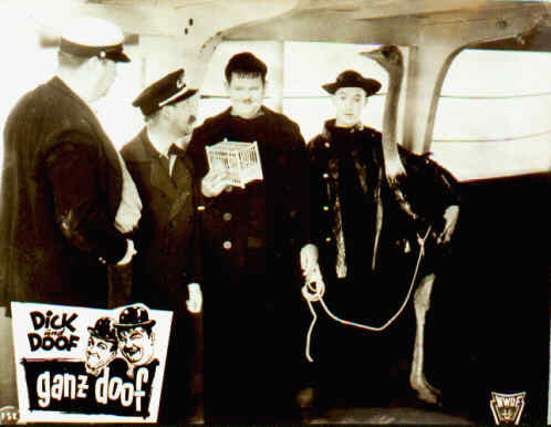 laurel and hardy at sea in Any Old Port