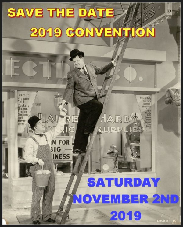 Laurel and Hardy 2019 Convention