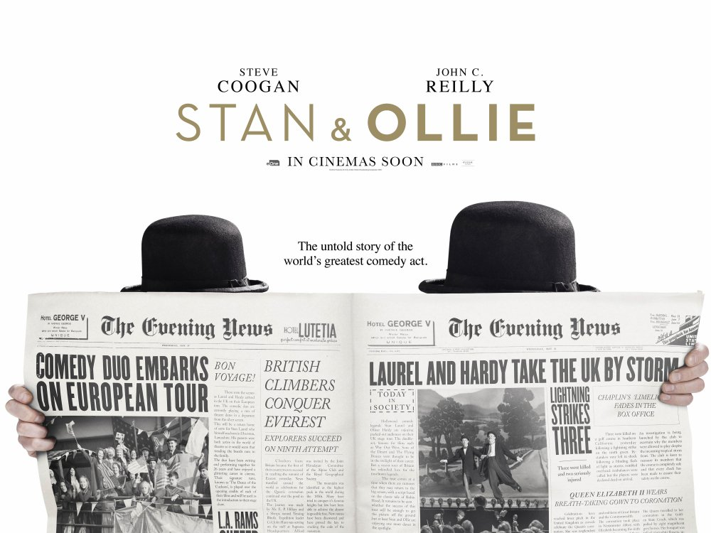 Stan and Ollie Cinema Poster