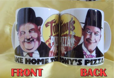 Laurel and Hardy TONYS PIZZA