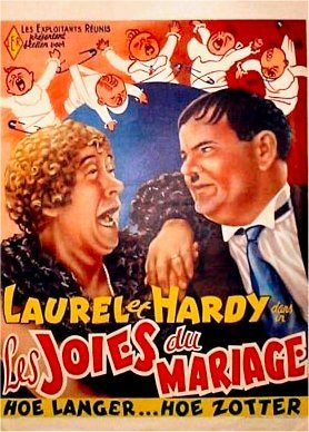 Laurel and hardy in Twice Two