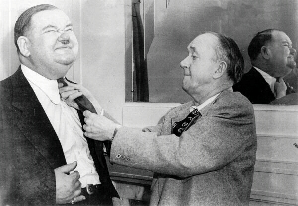 Laurel and Hardy Neckties