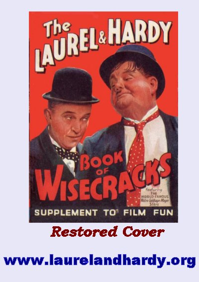 Laurel and Hardy book of Wisecracks