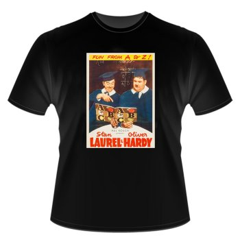 Laurel and Hardy CHUMP AT OXFORD T SHIRT