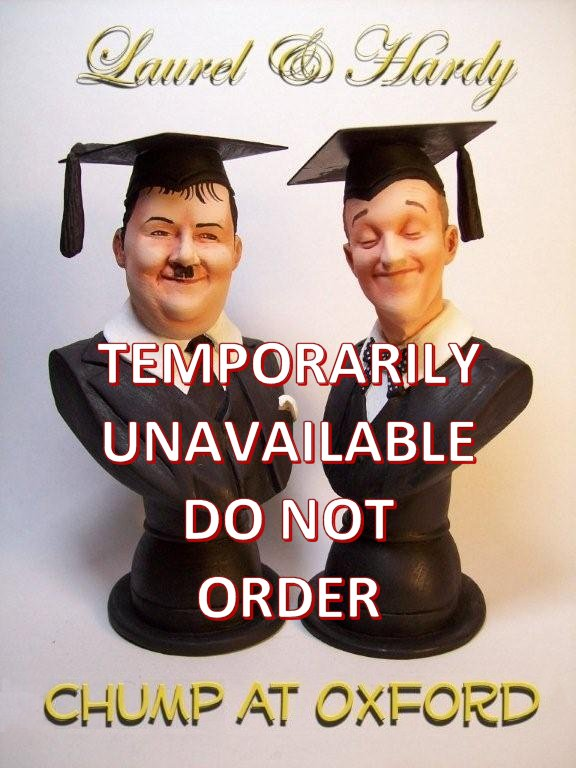 The Chump at Oxford busts Laurel and hardy