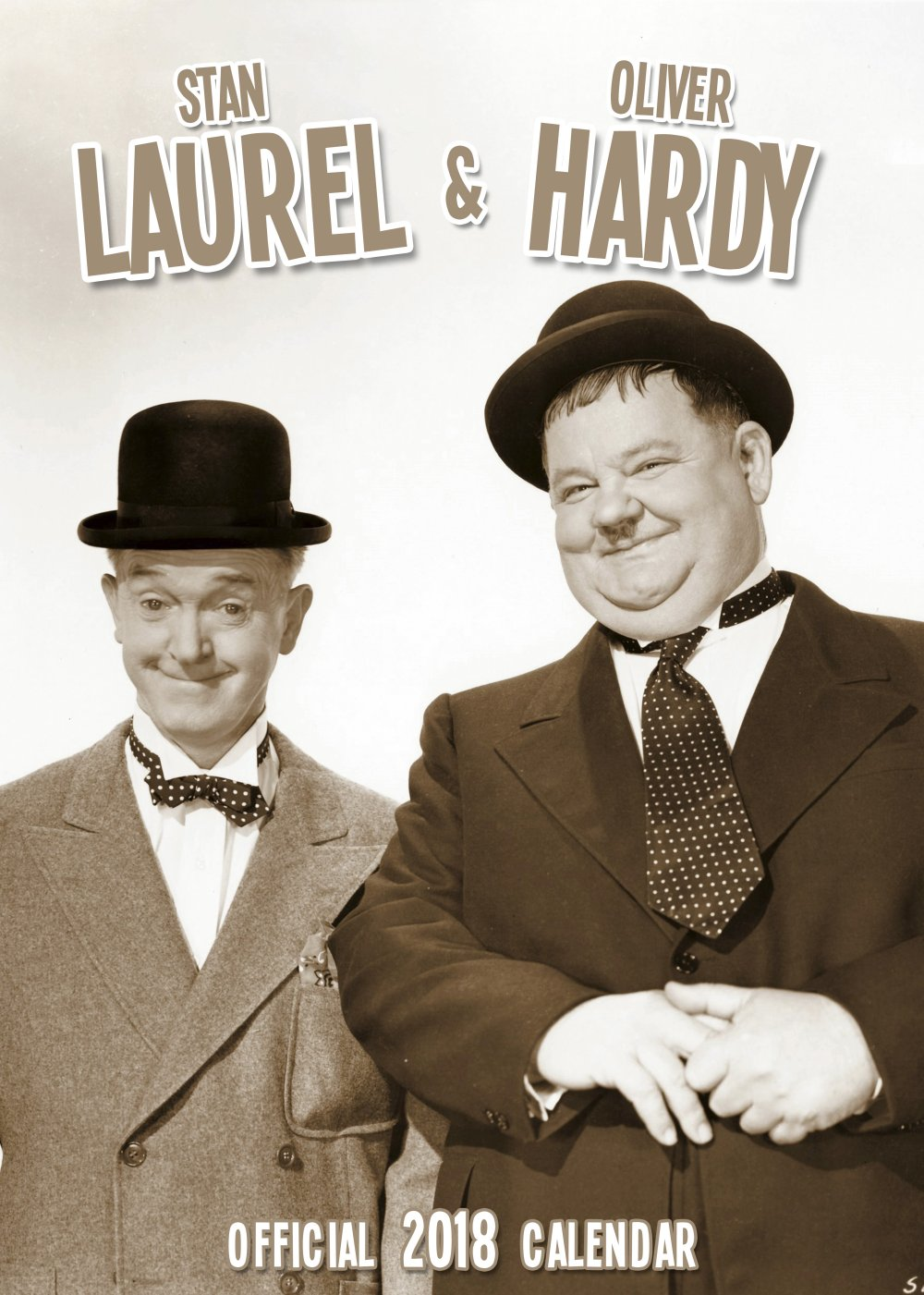 Laurel and Hardy Calendar 2018