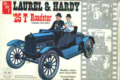Laurel and Hardy Model T Ford AMT KIT