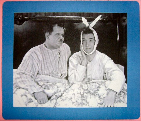 JOEYs Apartment Laurel & hardy Poster friends