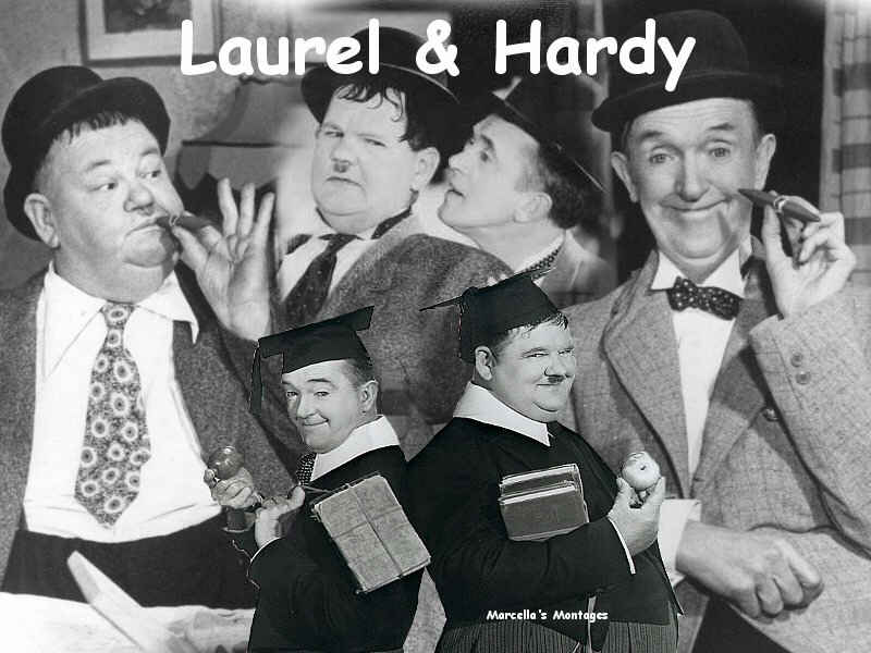 Oliver Hardy Tie Stan Laurel and Oliver Hardy