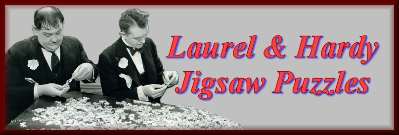 Laurel and Hardy ME and MY Pal Jigsaw Puzzle