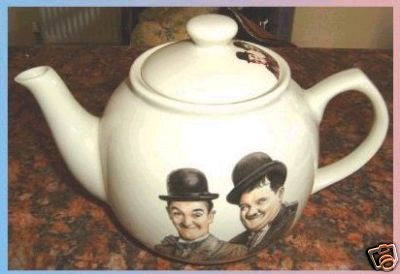 Laurel and Hardy Teapot