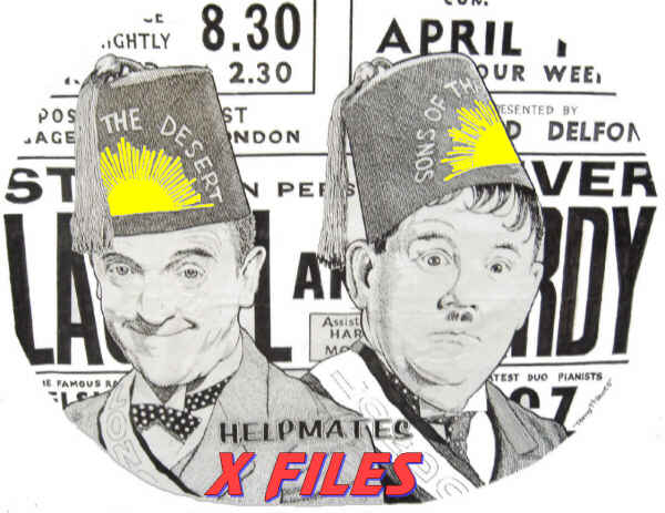 Laurel and Hardy X Files