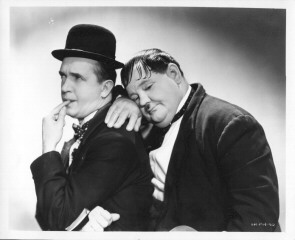 stan and babe aka Laurel and Hardy